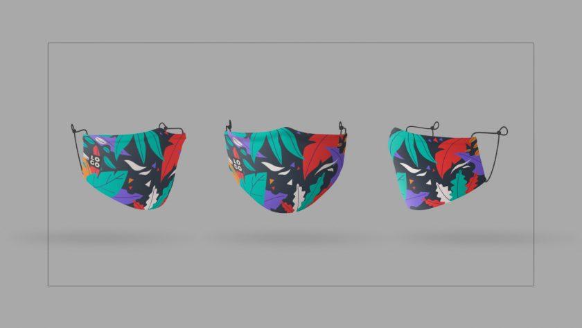 Masker Fullprint